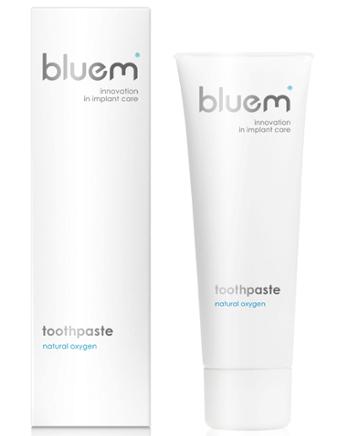 pasta do zębów firmy BLUEM - profesjonalna ochrona implantów