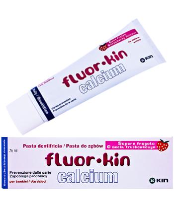 KIN Fluor Calcium - pasta przeznaczona specjalnie dla dzieci